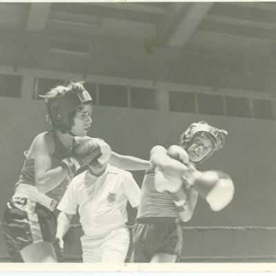 Brad Boxing Feb 1981